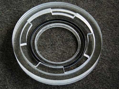 Assembled Twist lock flange