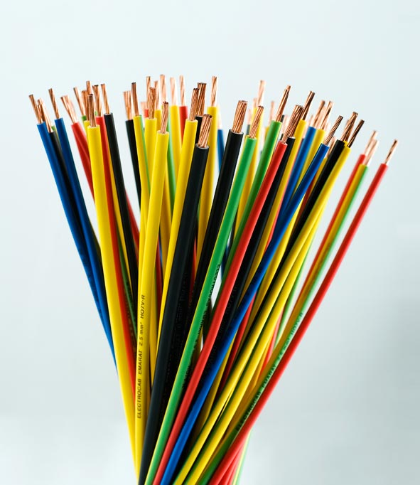 Various THHN wires