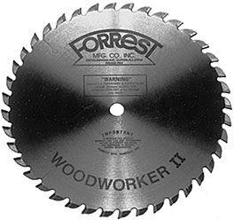 Forrest Wood Worker II 40TR ATB Saw Blade