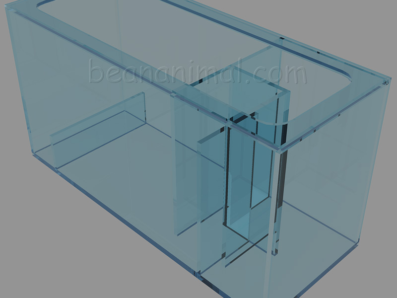 Acrylic Sump NW Rendering